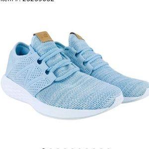 Blue Womens Fresh Foam Cruze Sport Running Shoes